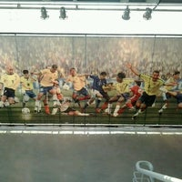 Photo taken at Museu do Futebol by Peraí R. on 7/2/2012