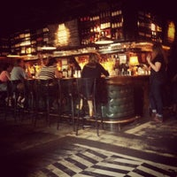 Photo taken at B & B Winepub (Burger & Barrel) by Dennis Y. on 9/5/2012