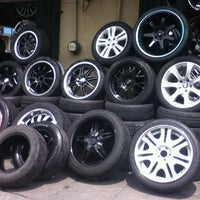 Photo taken at RTS Autowheelshop by Kciiee H. on 7/6/2012