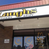 Photo taken at Laughs Comedy Spot by David K. on 9/6/2012
