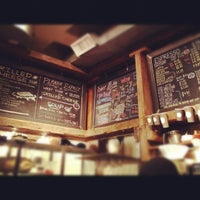 Photo taken at Think Coffee by lanamaniac on 2/13/2012