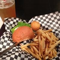 Photo taken at Bun Bun Gourmet Burger and Tea House by Heather G. on 6/1/2012