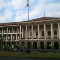 Photo taken at Gedung Pusat UGM by Ahmad A. on 7/17/2012