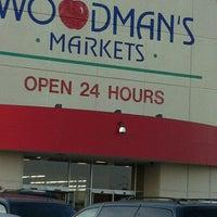 Photo taken at Woodman's Food Market by Thomas H. on 7/15/2012