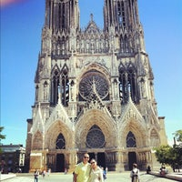 Photo taken at Our Lady of Reims by André L. on 8/11/2012