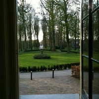 Photo taken at Kasteel Oud Poelgeest by Wendy V. on 4/12/2012