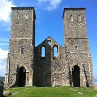 Photo taken at Reculver Towers and Roman Fort by Alan S. on 6/19/2012
