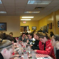 Photo taken at Simonetti's Pizza by Ariel W. on 3/2/2012