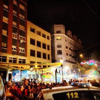 Photo taken at Plaza de Lavapiés by Rui D. on 8/8/2012