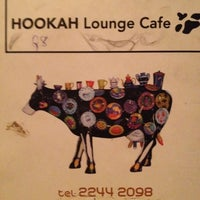 Photo taken at Hookah Lounge Cafe by M on 6/25/2012