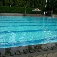 Photo taken at BIC swimming pool by amandatans on 5/30/2012
