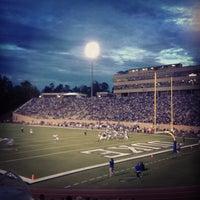 Photo taken at Brooks Field at Wallace Wade Stadium by Kati C. on 9/1/2012