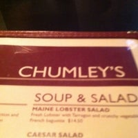 Photo taken at Chumley's Steakhouse by Dan Q. on 11/17/2011