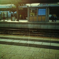 Photo taken at Bahnhof Bruchsal by RA75 on 8/4/2011