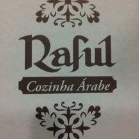 Photo taken at Raful Cozinha Árabe by Tatiana D. on 3/1/2012