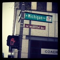 Photo taken at The Magnificent Mile by Monet S. on 4/14/2012