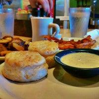 Photo taken at Kerbey Lane Cafe by ryan l. on 9/23/2011
