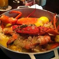 Photo taken at Pappadeaux Seafood Kitchen by Donovan Twin D K. on 10/29/2011