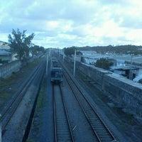 Photo taken at Passarela Do Trem by hEnrIqUE :. on 4/13/2012