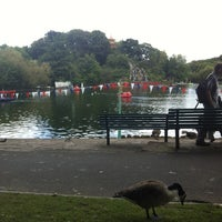 Photo taken at Peasholm Park by Amy D. on 7/28/2012