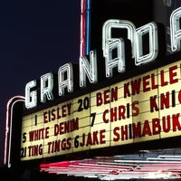 Photo taken at Granada Theater by Sarah T. on 4/2/2012