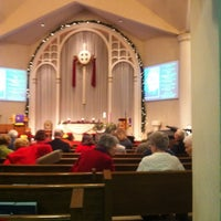 Photo taken at First Presbyterian Church of Aurora by Park Family E. on 12/18/2011