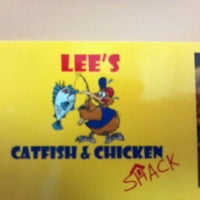 Photo taken at Lee's Chicken and Catfish Shack by Michael H. on 12/16/2011