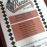 Photo taken at Renee's Fish & Soul Food by Zealous D. on 6/1/2012