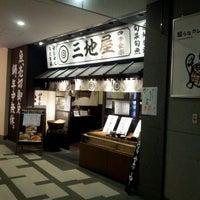 Photo taken at 四季食楽 三地屋 カレッタ汐留店 by CinCinBBmo C. on 9/13/2011