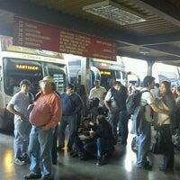 Photo taken at Terminal de Buses Curicó by Alvaro O. on 9/25/2011