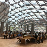 Photo taken at Joe and Rika Mansueto Library by Daniel K. on 5/24/2011