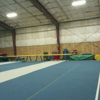 Photo taken at Flip Factory Gymnastics by Conner B. on 1/8/2012