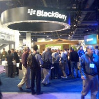 Photo taken at BlackBerry #CES Booth 30326 by Zuly O. on 1/13/2012