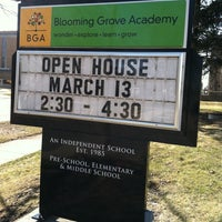 Photo taken at Blooming Grove Academy by Jodi S. on 3/30/2011