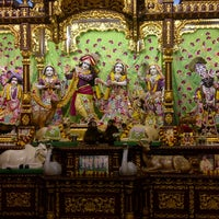 Photo taken at ISCKON Temple by karishma k. on 1/27/2012