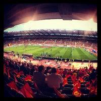 Photo taken at King Baudouin Stadium by Dimitri V. on 8/15/2012