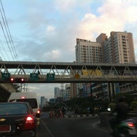 Photo taken at Ratchada-Sutthisan Intersection by Patchara K. on 12/14/2011