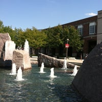 Photo taken at Broyhill Fountain by Kelsey H. on 8/22/2011