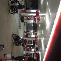 Photo taken at SPBU 34.13210 Perempatan Pemuda by Diyno S. on 3/8/2012