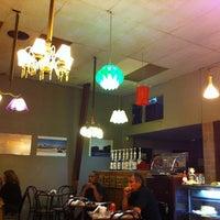 Photo taken at Loft Cafe by Māūrīcīo M. on 1/24/2011