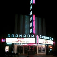 Photo taken at Granada Theater by Dan C. on 12/17/2011