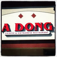 Photo taken at A Dong Chinese/Vietnamese Restaurant by Carlos H. on 11/22/2011