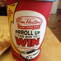Photo taken at Tim Hortons by Bob M. on 3/27/2012
