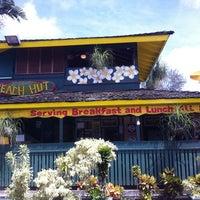 Photo taken at Kalapaki Beach Hut Burgers by Andrea V. on 7/20/2011