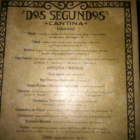 Photo taken at Cantina Dos Segundos by Melissa P. on 8/5/2012