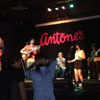 Photo taken at Antone's by Marcia G. on 5/12/2012