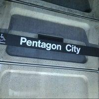 Photo taken at Pentagon City Metro Station by Meme on 8/30/2012