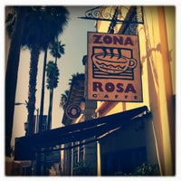 Photo taken at Zona Rosa Caffe by Mark L. on 8/20/2011