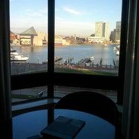 Photo taken at Royal Sonesta Harbor Court Baltimore by Jonathan I. on 12/30/2011