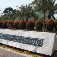 Photo taken at Taman Menteng by James M. on 9/1/2012